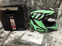Fox V1 Race Helmet Brand New size XS small