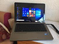 High spec intel i3 HP G62 win 10 off 13 HDMI very clean wide screen no offers