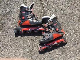 Roller blades size 7