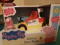 Brand new peppa pig beach car