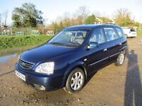 KIA CARENS 2007 LOW MILAGE DIESEL 11 MONTHS MOT LE CRDI MODEL SEE PICS NICE CAR DRIVES WELL RELABLE