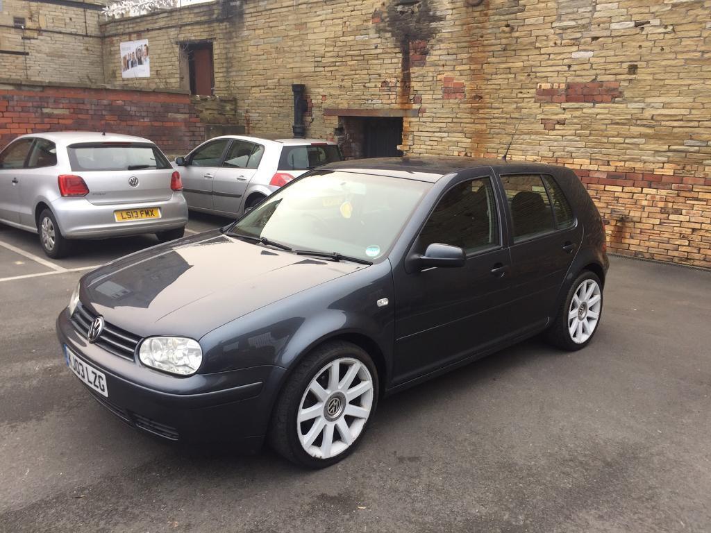 2003 VW GOLF GTI TURBO 1.8T 150 BHP *service history* MK4 turbo not Gt tdi 130 150 *ALLOYS* | in ...