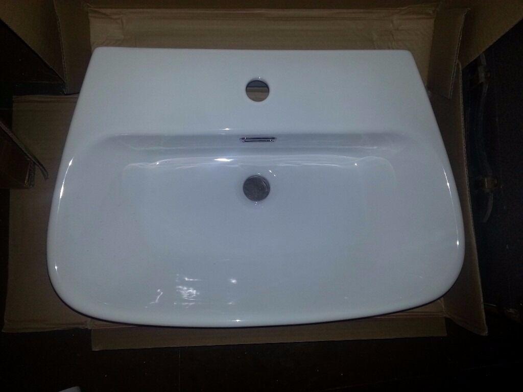 Bathroom Suites Homebase Bathroom Basin White Semi Recessed Homebase In Worthing West