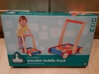 BRAND NEW ELC Wooden Toddle Truck