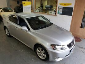 2006 LEXUS IS 220D 2.2TD, FULL SERVICE HISTORY, 89K MILES ONLY, VERY CLEAN CAR, DRIVES LIKE NEW,