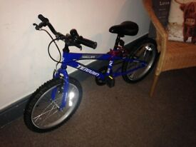 Boys mountain bike 16inch very good condition hardly used