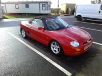 Superb MGF Convertable with 59866 miles im superb condition. Superb drive.