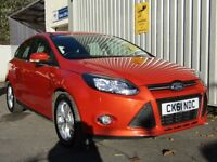 Ford Focus 1.6 Ti-VCT Zetec 5dr 1 previous owner, fsh