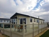 Static caravan for sale/Willerby Clearwater Lodge/decking, hot tub& skirt&ground rent INCLUDED/lakes