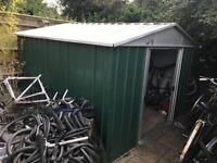 Metal Shed. 285cm X 285cm. Can help with delivery