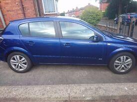Vauxhall astra sxi 5 door blue 2007(57)