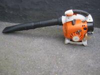 Stihl Petrol Leaf Blower BG86C - New Blower Pipes !! 2011