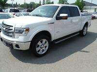 2013 Ford F-150 Lariat, Clean with DVD Headrests and Tonneau