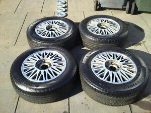 5 x vr/vs calais rims and near new tyres. Woodville South Charles Sturt Area Preview