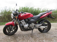 Honda Hornet well serviced. 24,000 miles on the clock. Garaged