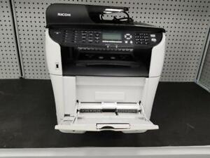 Ricoh SP-3510SF Black and White Laser Multifunction Printer - Pre Owned with speed upto 30 PPM, Copy, Print, Scan