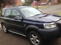Land Rover freelander tdi 2002 full mot 127000 miles