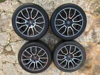 """Wolfrace Evoke alloy wheels 20"""" 8.5j. 6 Stud for Mercedes Sprinter or VW Crafter"""