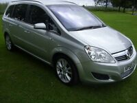 Vauxhall Zafira diesel CDTI 150 BHP ELITE (full Leather) LOW MILES