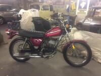 1976 RARE CLASSIC HARLEY DAVIDSON SX125 - CBT LEARNER READY
