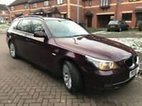2008 BMW 530d 3.0d SE AUTOMATIC DIESEL TOURING FULL SERVICE HISTORY AND MOT