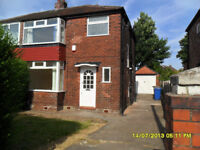 Three bed semi= detached house in Prestwich off Sheepfoot Lane