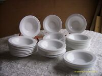 small white microwaveable bowls