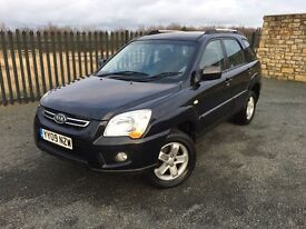 2009 09 KIA SPORTAGE 2.0 XE 4WD JEEP - *ONLY 1 OWNER FROM NEW* - GOOD EXAMPLE!