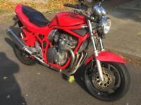 Suzuki bandit gsf600 red