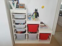 IKEA Storage combination with boxes
