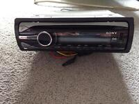Sony car CD player with USB port
