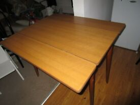 A small table is for sale