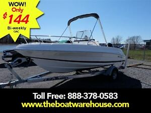 2016 Wellcraft 180 Fisherman Mercury 115HP 4 stroke Bow cushio..