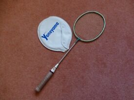Yoneyama badminton racquet - not new but hardly used