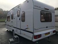 Sterling Europa 500/5 5 Berth 17ft with full awning and lots of extras
