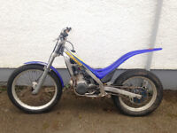 Sherco 200 Trials bike