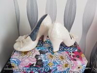 Irregular Choice Shoes. brand new. unworn and boxed. Size 3