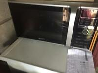 Sharp combi microwave
