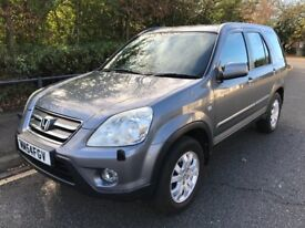 LOW MILEAGE,HPI CLEAR,AUTOMATIC,2005 HONDA CRV I-V TEC,80000 MILES,FULL SERVICE HISTORY,TWO KEYS