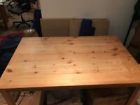 Wood desk (great condition)