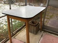 Formica top table