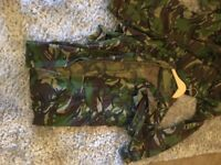 Full Set ARMY Combats and Gore Tex Waterproofs £15