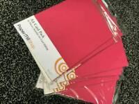A4 pink card