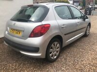 PEUGEOT 207 1.6 HDI DIESEL 5 DOOR + FULL SERVICE HISTORY + £30 ROAD TAX ONLY FOR THE FULL YEAR