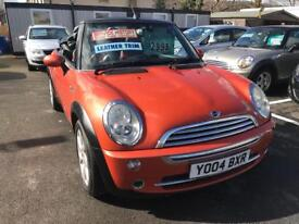 ***MINI COOPER CONVERTIBLE LIMITED EDITION COLOUR ONLY 75,000 MILES FSH***