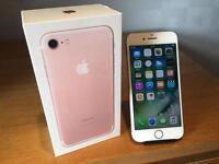 APPLE IPHONE 7 ROSE GOLD 32GB UNLOCKED