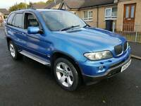 2005 bmw X5 3.0d M Sport 6 speed automatic 4x4 estoril blue may px R32 etc