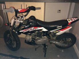 Stomp juice box 110cc pit bike