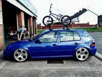 Mk4 Golf Roof Bars and Bike Rack
