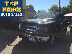 2014 Ford F-150 XTR CREW CAB, ECO BOOST, POWER SEAT, SYNC, BACK